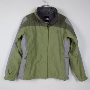The North Face Hy-Vent Green Jacket Size M